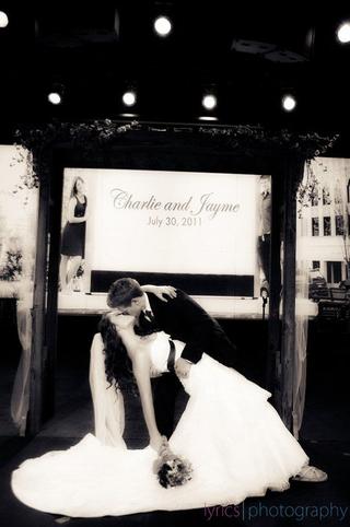 Jayme and Charlie kiss